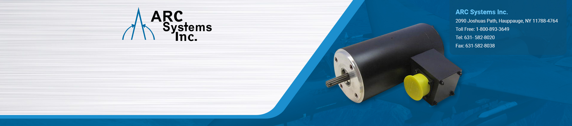 induction-motors ARC Systems Inc banner